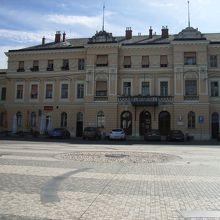 ノヴァゴリツェ駅前広場