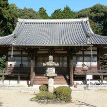 天平時代に創建された京都府京田辺市の観音寺