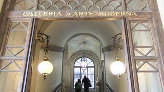 メディチ家のコレクションが並ぶピッティ宮の2階にある美術館