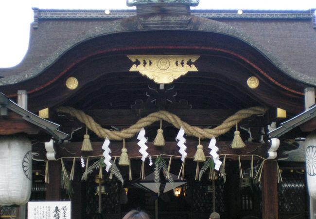 勝ち馬の神社