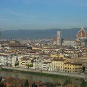 フィレンツェの街並を一望