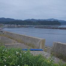 駅から徒歩数分で、海岸沿いまで歩くことが出来ました