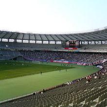 西東京のサッカースタジアム