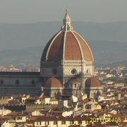 フィレンツェの街を一望、必ず訪れて