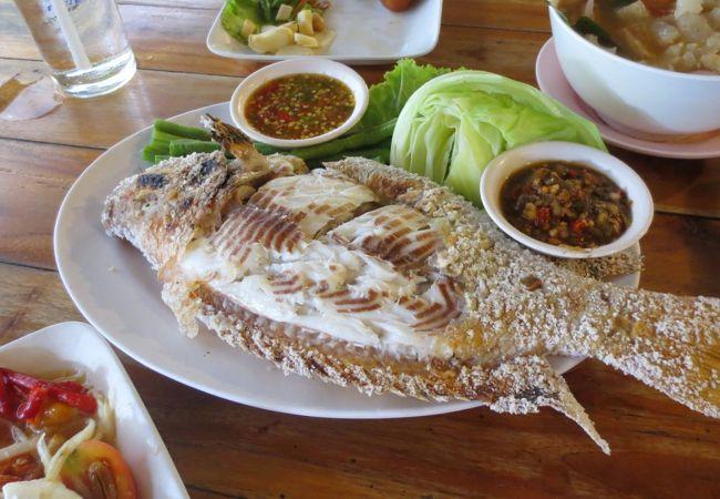 プラーガポン でかい魚!やはり美味しかった