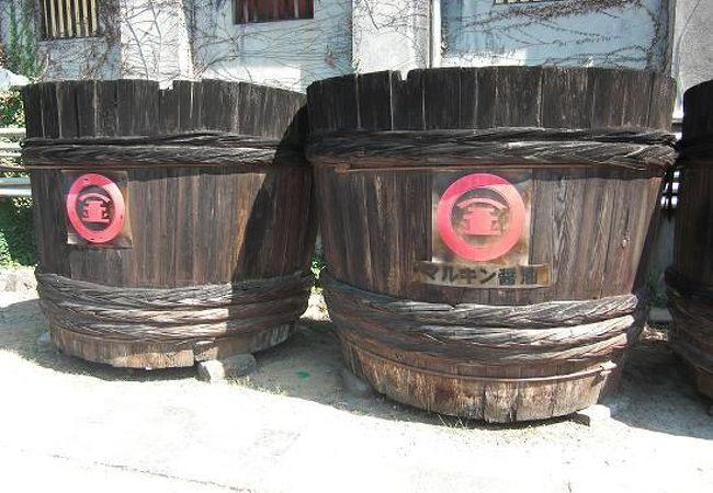 今でも使われている醤油の樽