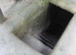 クチの地下トンネル