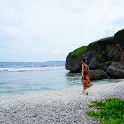 プライベートビーチ的な、ローカル色を感じる素敵な海岸