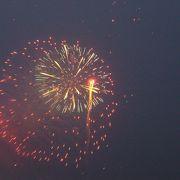 初めての鎌倉の花火大会