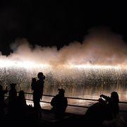 豊川での花火
