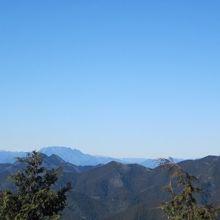 両神山方面