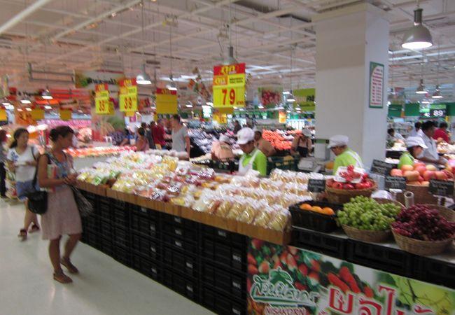 BIGC食料品売場