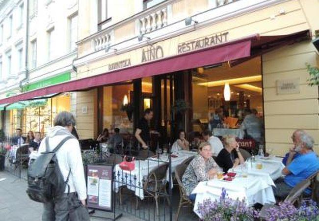 エスプラナーディ通り沿い!フィンランド料理が味わえるお店*AINO*