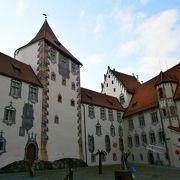 だまし絵が面白いお城です。