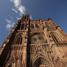ストラスブール ノートルダム大聖堂/尖塔/カラクリ時計Cathedrale Notre,Dame Strasbourg. 寺院・教会