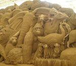 鳥取砂丘砂の美術館