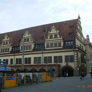 美しい市庁舎です。