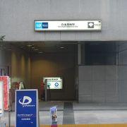 東京メトロ南北線と都営三田線が同じホームで乗れる白金高輪駅