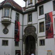 ライヒェン通りからレヒ川に出る途中にある博物館