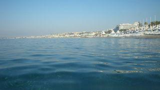パブリックビーチも充実
