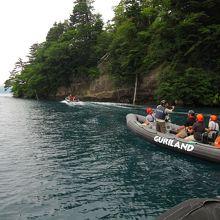 グリランド 十和田湖 RIBツアー