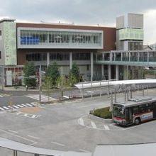 「たまプラーザ駅」の南口です。