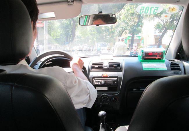 マイリンタクシー車内