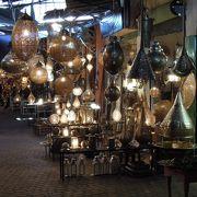 美しいランプたち