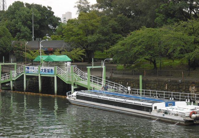 水上バス アクアライナー (大阪城港のりば)