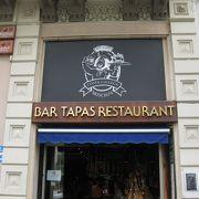 グラシア通りのオススメレストラン(カサ・ミラの近く)
