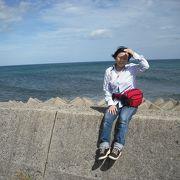 日本海は美しかった