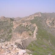 未修復の万里の長城