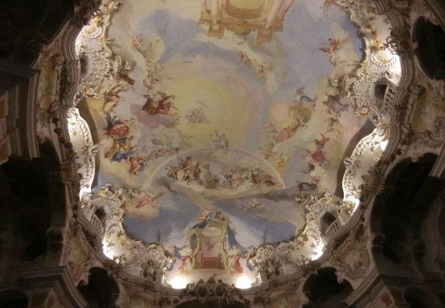 これが中の天井です。