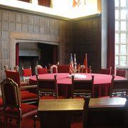 ポツダム会談が行われた宮殿は、のどかな田舎にありました。
