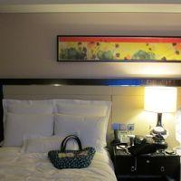 オリエンタルな雰囲気の客室