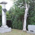 写真:クラーク博士記念碑