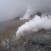 活火山直下
