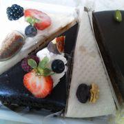 甘すぎず大人なケーキ