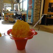 マンゴーかき氷食べました。