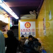 台北駅近くの安くておいしい麺線の店
