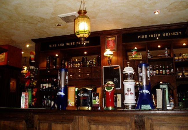アイルランドのお酒、料理のお店