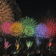 2012年の足立の花火は10月13日に行われました