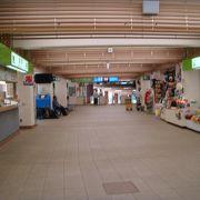 トロッコ電車の終点駅