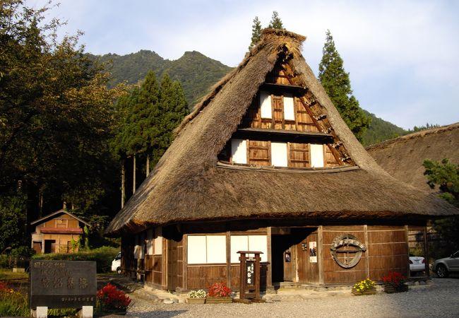 菅沼集落の合掌造りの家