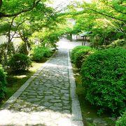庭園が美しい一休寺