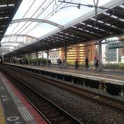歓楽街新世界の最寄駅