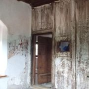当時のまま保存されている最上階の部屋が印象的