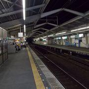 迷いやすい駅(>_<;)。通天閣の最寄り駅、空港特急ラピートが止まる駅