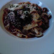 蕎麦も美味いが洋食、米粉入り自家製パスタ料理もおすすめ