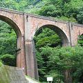 写真:めがね橋(碓氷第三橋梁)